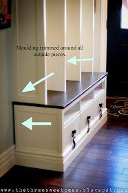 IKEA hack entryway locker idea- love this!