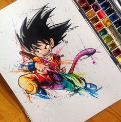 dragon ball z tattoo Dragon Ball Gt, Blue Dragon, Games Tattoo, Manga Anime, Anime Art, Art Kawaii, Z Tattoo, Tattoos Masculinas, Tattoo Flash