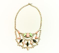 Check out the deal on Bon Soiree Statement Collar Necklace at Eco First Art
