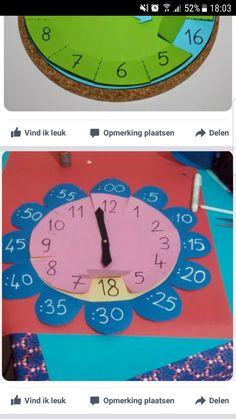 Imagem – Educação Infantil – Aluno On Learning Clock, Kids Learning, Teaching Time, Teaching Math, Math Classroom, Classroom Activities, Educational Activities, Preschool Activities, Math For Kids