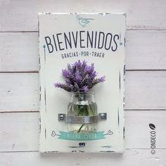 Porta flores | Bienvenidos