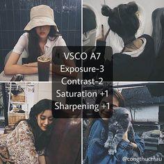 Tone tối #VSCO A7 nà :>