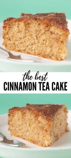 Easy Cake Recipes, Tea Recipes, Easy Desserts, Sweet Recipes, Baking Recipes, Delicious Desserts, Dessert Recipes, Easy Sweets, Whole30 Recipes