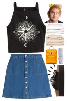 """WE'LL PISS OFF THE NEIGHBORS.✧"" by c-astaway ❤ liked on Polyvore featuring HUGO, H&M, Charlotte Russe, Fjällräven, Hamam, Brahms Mount, Selfridges, Old Navy, jostendaychallenge and josday3"