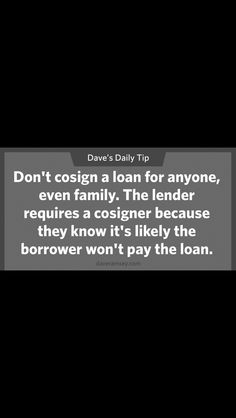 Take control Financial Success, The Borrowers