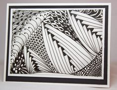 Inky Creations with Marie: Let's Zentangle!
