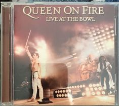 """QUEEN: """"On Fire: Live at the Bowl"""" by Queen (CD, Nov-2004, Disc 1, Hollywood)  