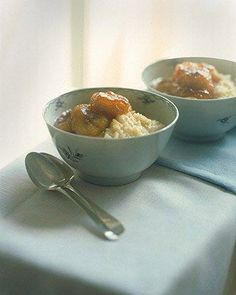 Creamy Rice Pudding with Caramelized Bananas Recipe