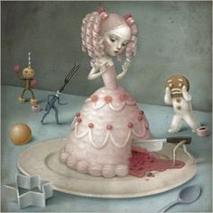 La Marelle `Kaart Nicoletta Ceccoli Just Dessert`