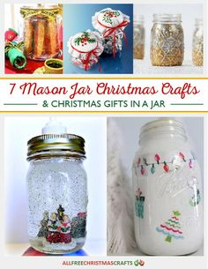 40 Best Mason Jar Christmas Crafts Images In 2020 Christmas