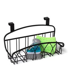 Look at this Over-the-Door Small Basket on #zulily today!