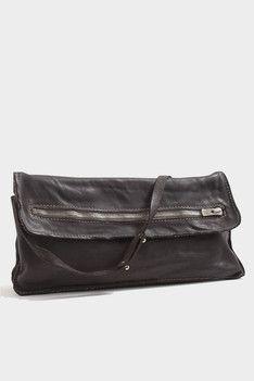 Brown Zip Bag