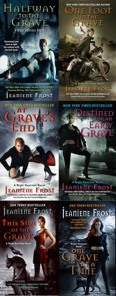 These books are awesome!  Night Huntress - Jeaniene Frost - Books 1-6
