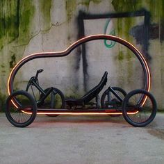 British designer Ben Wilson has designed a pedal-powered vehicle inspired by a child's toy car.