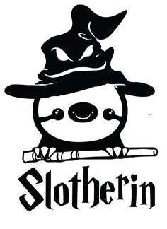 Funny+Harry+Potter+Sloth+Slotherin+Decal+Sticker+by+stickEdecals,+$6.00 @Vanessa Canfield @Erica Gregory @Brittany Denton