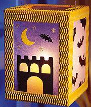 Laterne für Halloween basteln