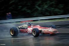 News Photo : Jacky Ickx, Ferrari 312, Grand Prix of France,...
