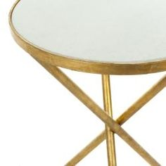 "21.2"" H x 15.7"" overstock.com/Home-Garden/Hidden-Treasures-White-Granite-Brass-Accent-Table/6811742/product.html?CID=214117 $302.99"