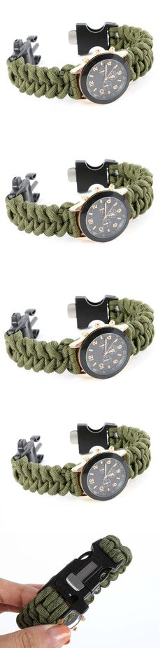 Camping Paracord Braided Bracelet! Click The Image To Buy It Now or Tag Someone You Want To Buy This For. #Camping