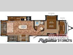 New 2015 Grand Design Reflection 313RLTS Travel Trailer at General RV | Brownstown, MI | #121251