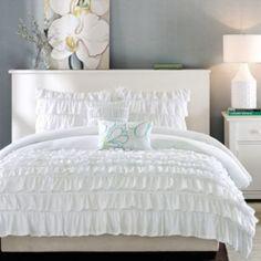 Intelligent Design Demi Ruffled Comforter Set found at @JCPenney