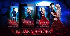 Cover Reveal! Rite of the Vampire Saga by Juliana Haygert  <3 <3 <3 these covers!