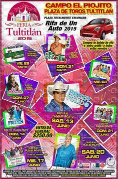 Feria Tultitlán 2015 ~ Ferias de México