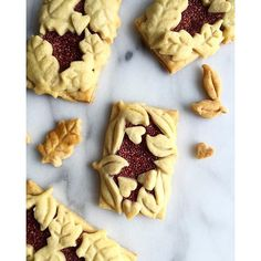 Raspberry-lemon chai tarts by minnalee@livingminnaly