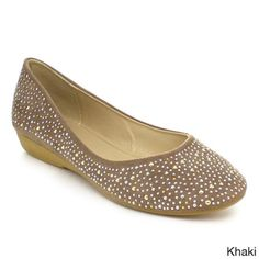 LASONIA M1325 Women's Casual Studded Ballet Flats - Overstock™ Shopping - Great Deals on Flats
