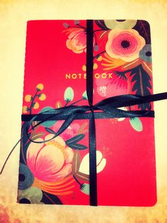 My favorite notebooks from anthropologie. Awesome gifts.