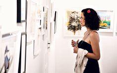 Paraenses montam única galeria de ilustrações (Foto: Divulgação)