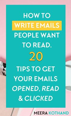 Does it feel like an uphill task to get subscribers to open and act on your emails? If you feel like your emails are being ignored, this post will give you 20 nifty hacks that help your emails get opened, clicked and read. You'll also know the NO #1 factor that determines why a subscriber opens your email. #businesstips