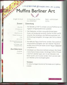 Muffins Berliner Art gefüllt mit Marmelade