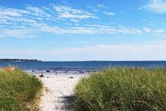 Entering Pine Point Beach.