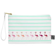 Monika Strigel Mini Flamingo Walk Pouch | DENY Designs Home Accessories