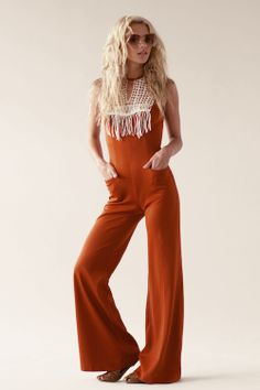 Vintage 70's Tangerine Dream Jumpsuit... http://stonedimmaculatevintage.com/collections/jumpsuits/products/tangerine-dream-crochet-jumpsuit