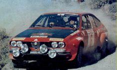 Alfa Romeo Gtv6, Alfa Gtv, Rally Car, Fiat, Circuits, Vehicles, Motorbikes, Corse, Rally