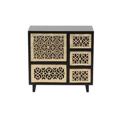 Ava Wooden Jewelry Chest