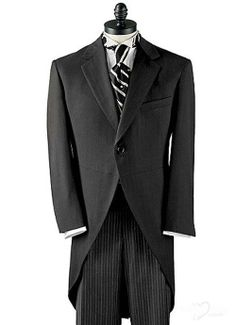 long tail black tuxedo with white trim | Tuxedos | Custom Tuxedos For Prom in HoneyBuy.com - page 5