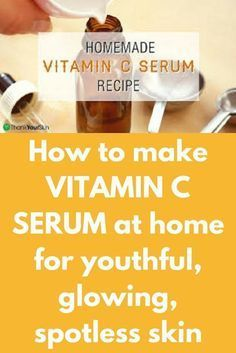 How to make VITAMIN C SERUM at home for youthful, glowing, spotless skinVitamin C is an essential ne Vitamin C For Face, Diy Vitamin C Serum, Best Serum, Wie Macht Man, Lighten Skin, Skin Care Remedies, Wrinkle Remedies, Skin Treatments, Face Treatment