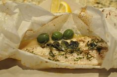 Barefoot Contessa's herb-roasted fish in parchment paper... Amazing, healthy, and fast.