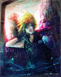 Cloud by(Mako) - Final Fantasy VII - Cloud Strife