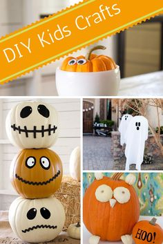 From handmade decorations to DIY party favors and creative ideas for pumpkins, we have 30 Halloween kids' craft ideas to keep your little ghouls and ghosties busy.