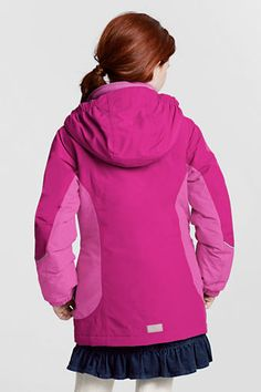 Girls' Squall® 3-in-1 Waterproof Parka from Lands' End