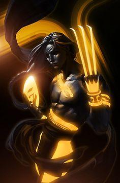Tron remixed SF characters byboss logic (pic set)