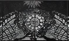 Xin Song received an invitation from the MTA to commemorate and celebrate the 100th anniversary of Grand Central Terminal in New York City for On Paper/ Grand Central at 100.  She is one of four international paper-cut artists asked to create works that will be displayed in the lower level light box September, 2014.