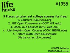 This may not be legit, but at least worth checking out. #onlinecourse