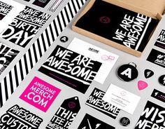 Echa un vistazo a este proyecto @Behance: \u201cAwesome Merchandise\u201d https://www.behance.net/gallery/26192969/Awesome-Merchandise