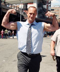 Hell Yeah! Christopher Meloni