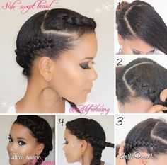 Remarkable Black Women Natural Hairstyles Updo And Protective Styles On Hairstyles For Men Maxibearus